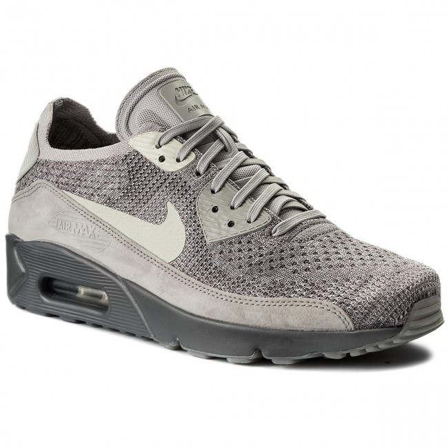 the latest ff9be f8f0a Buty NIKE - Air Max 90 Ultra 2.0 Flyknit 875943 007 Atmosphere Grey/Light  Bone