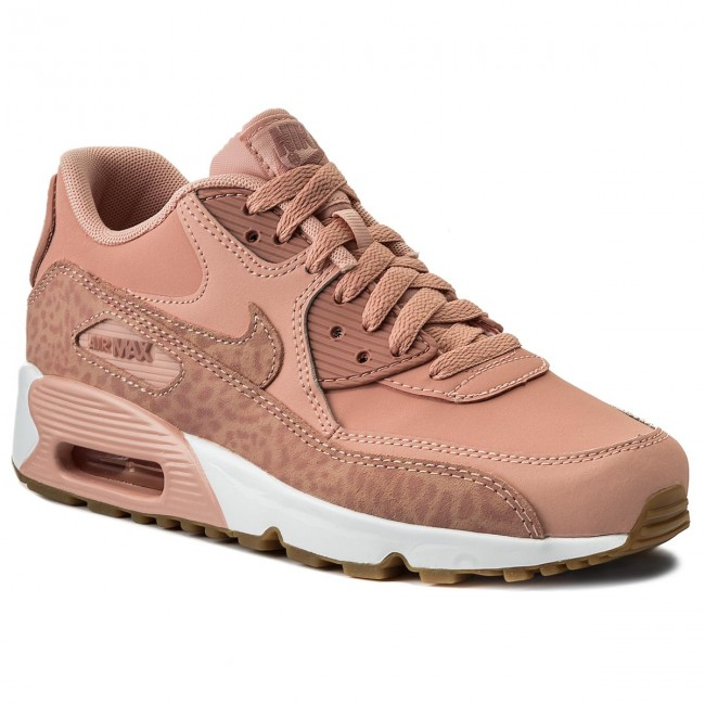 new styles e15b2 c6be9 Buty NIKE. Air Max 90 Ltr Se GG 897987 601 Coral Stardust Rust Pink White