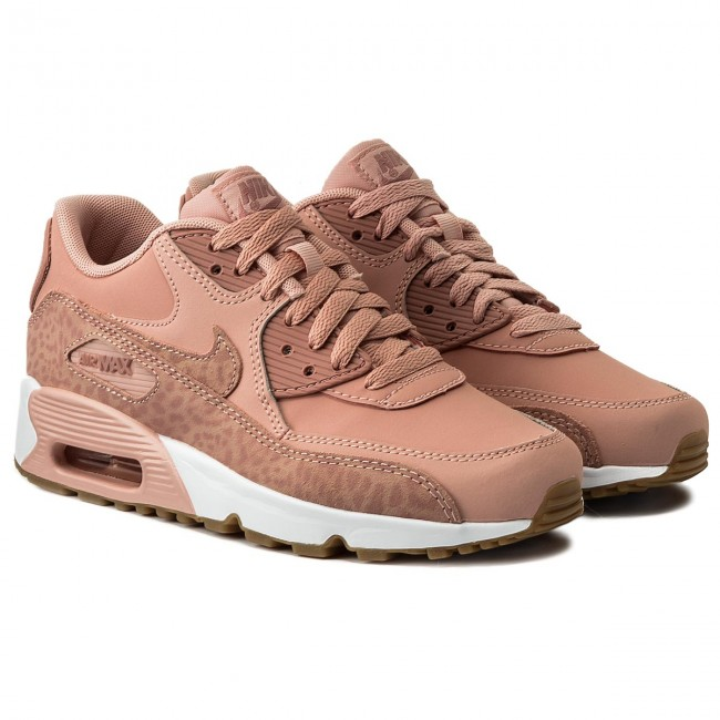 finest selection cba96 cc6ae Buty NIKE - Air Max 90 Ltr Se GG 897987 601 Coral Stardust Rust Pink White  - Sneakersy - Półbuty - Damskie - www.eobuwie.com.pl