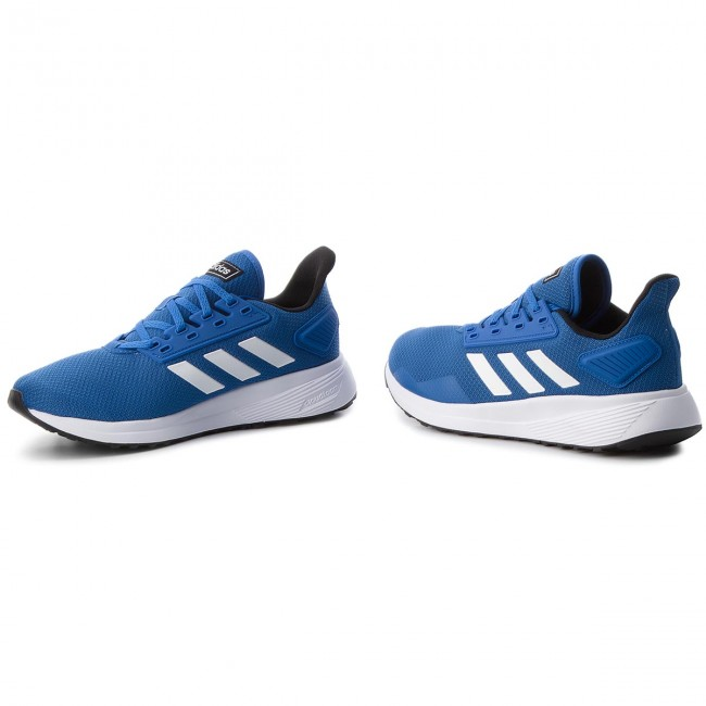 low priced 6d901 d10c1 Buty adidas - Duramo 9 BB7067 BlueFtwwhtCblack