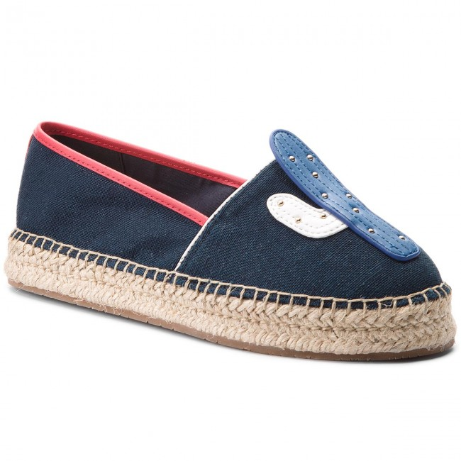 1a3da761731db Espadryle TOMMY HILFIGER - Patch Espadrille Corporate FW0FW03389 ...