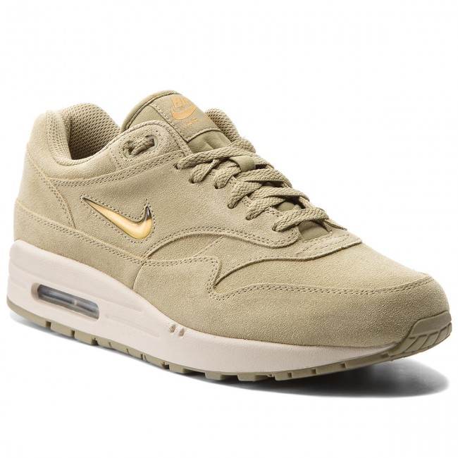 f5d5456a9075 Buty NIKE - Air Max 1 Premium Sc 918354 201 Neutral Olive Metallic Gold