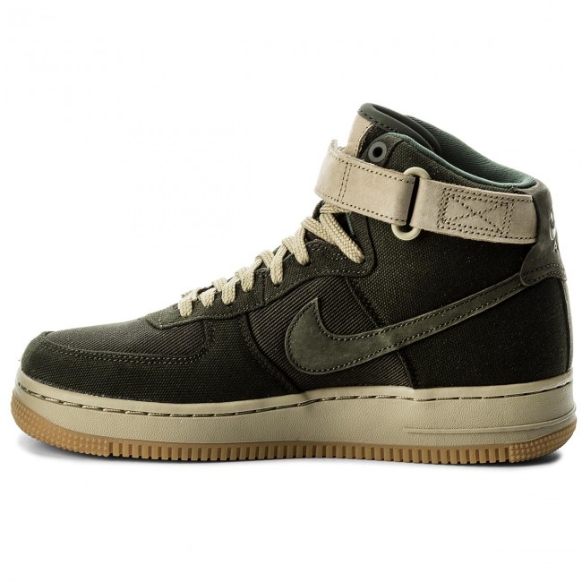 Buty NIKE Air Force 1 Hi Ut AJ2775 300 SequoiaSequoiaNeutral Oliwe