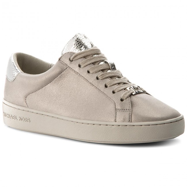 c6074cbc66306 Sneakersy MICHAEL MICHAEL KORS - Irving Lace Up 43T8IRFS1M Silver ...