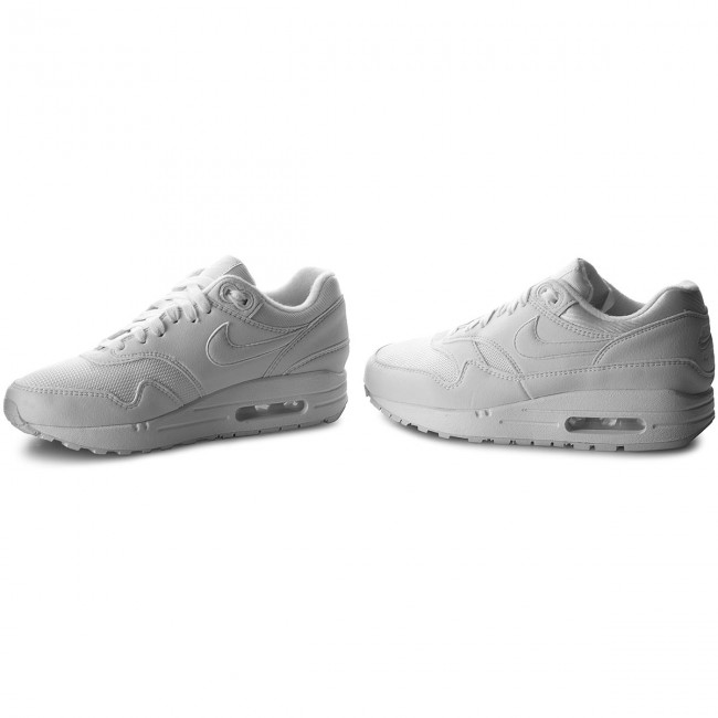 the latest d447d a638c Buty NIKE - Air Max 1 319986 108 White White Pure Platinum