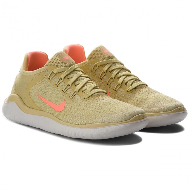 Buty NIKE Free Rn 2018 Summer AO1911 700 Lemon WashCrimson Pulse