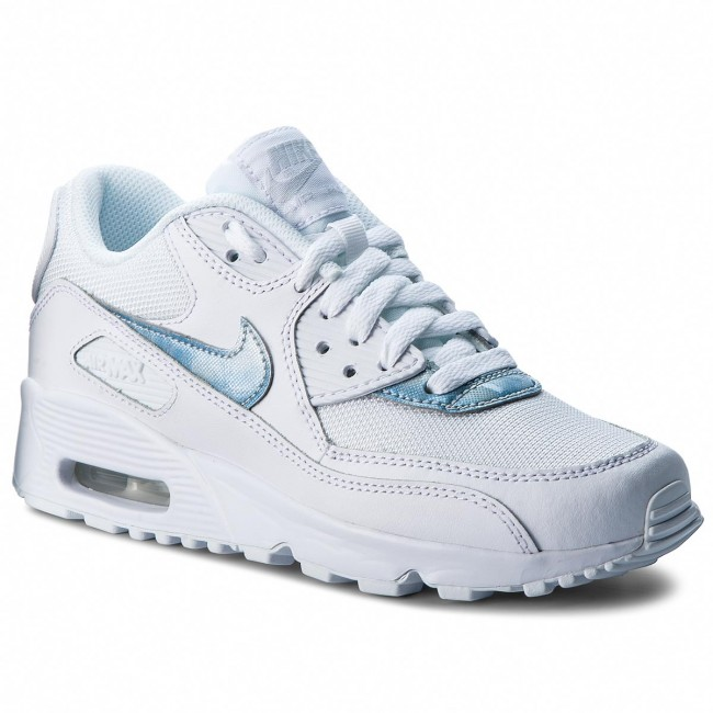 new styles 92223 57a30 ... coupon code for buty nike air max 90 mesh gs 833418 111 white royal tint  14d04