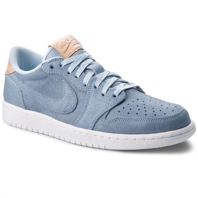 buy online 3c91a 1faa3 Buty NIKE - Air Jordan 1 Retro Low Og Prem 905136 402 Ice Blue/Vachetta