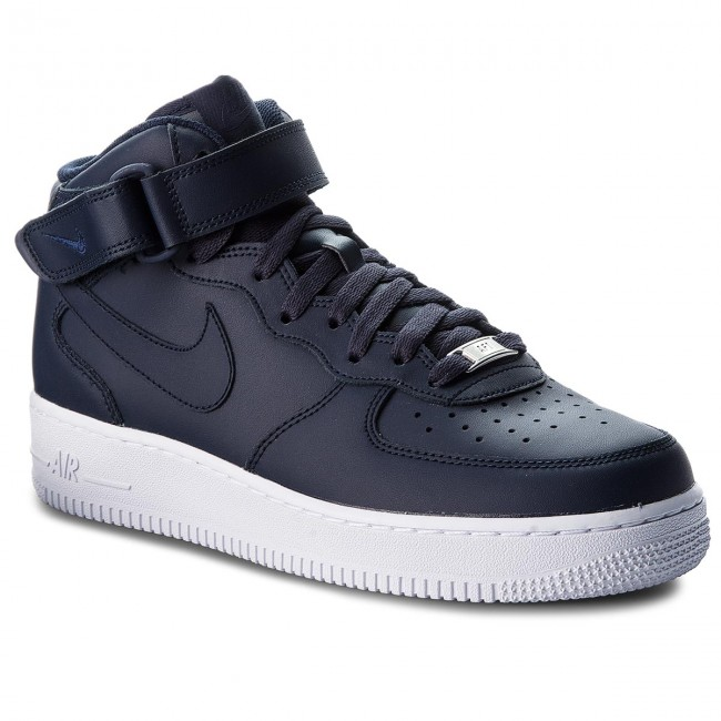 sneakers for cheap a1478 9f212 Buty NIKE - Air Force 1 Mid 07 315123 415 ObsidianObsidianWhite