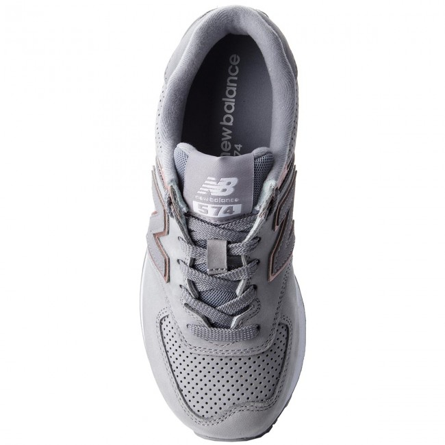 low priced c747c d6d42 Sneakersy NEW BALANCE - WL574NBN Szary