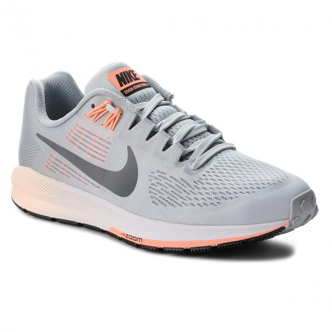 official photos ce3d8 958b8 Buty NIKE - Air Zoom Structure 21 904701 008 Wolf GreyDark Grey