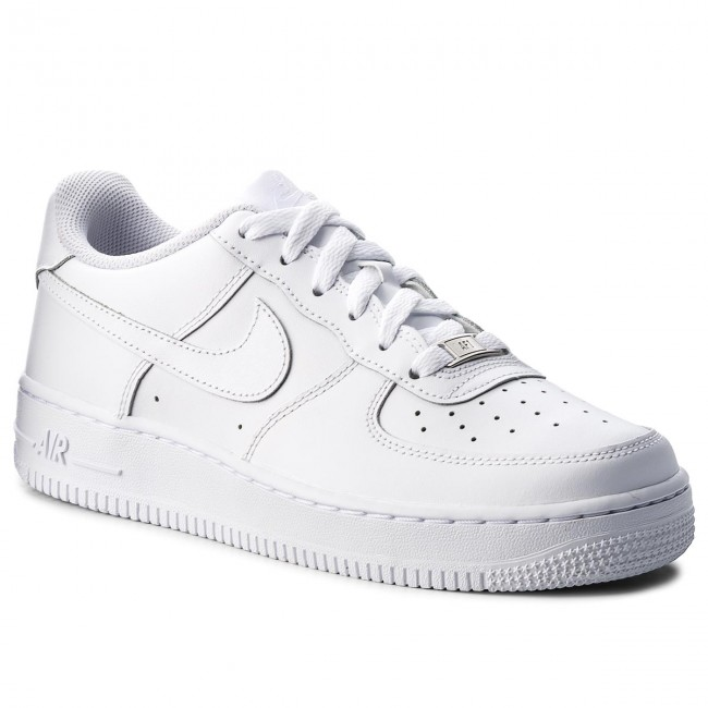 best website f9984 ae617 Buty NIKE - Air Force 1 (Gs) 314192 117 White White White