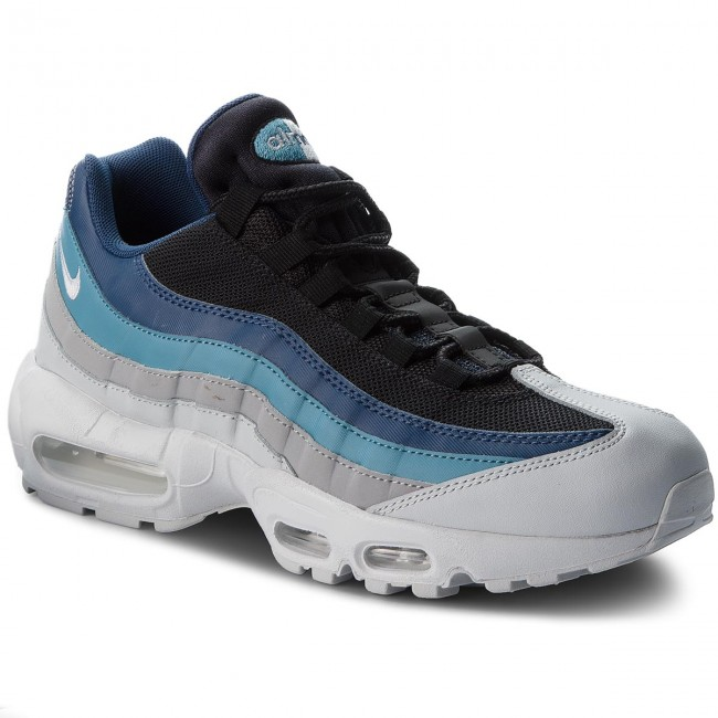 new style 3a456 51ceb Buty NIKE - Air Max 95 Essential 749766 026 Pure Platinum/Black/Navy ...