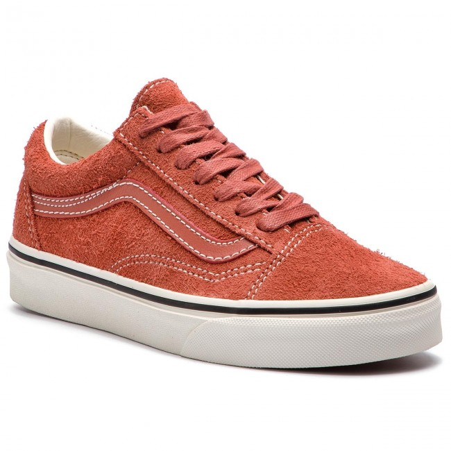 0a95efd94a Tenisówki VANS - Old Skool VN0A38G1UNG1 (Hairy Suede) Hot Sauce S ...