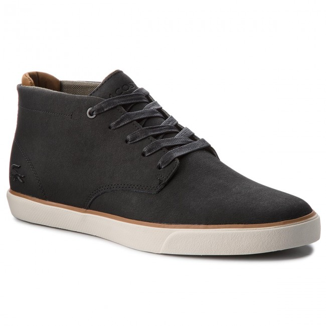 Trzewiki LACOSTE - Esparre Chukka 318 1 Cam 7-36CAM0020094 Blk Brw ... d1672837aa