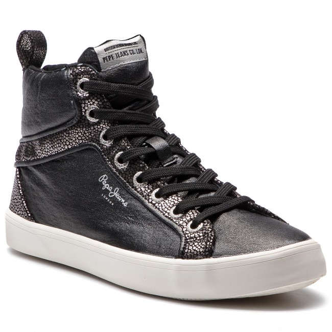 31c899566328f Sneakersy PEPE JEANS - Stark Moon PLS30771 Black 999 - Sneakersy ...