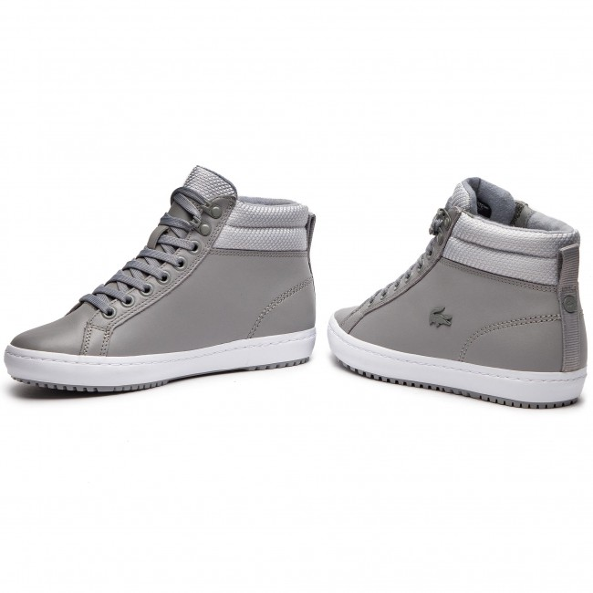 52647f72b699d Sneakersy LACOSTE - Straightset Insulatec 3181 Caw 7-36CAW0044H92 Gry/Lt Gry