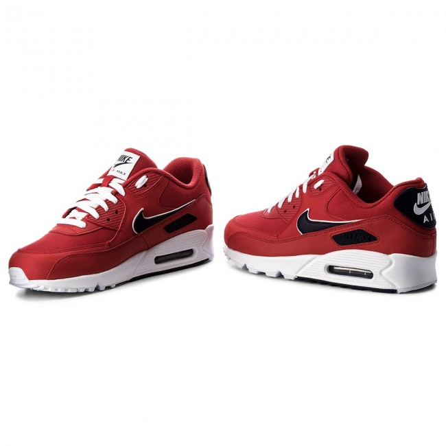 best service 8ede9 dfc04 Buty NIKE - Air Max 90 Essential AJ1285 601 University Red Blackened Blue
