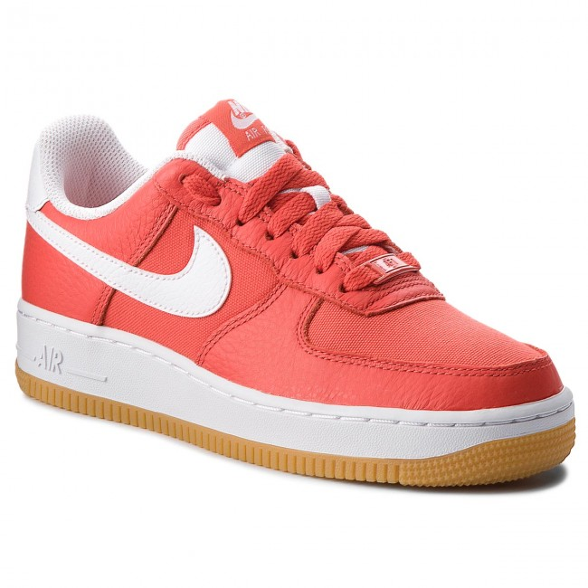 meet 4ed16 c2fc0 Buty NIKE - Air Force 1 '07 Prm 896185 601 Habanero Red/White ...
