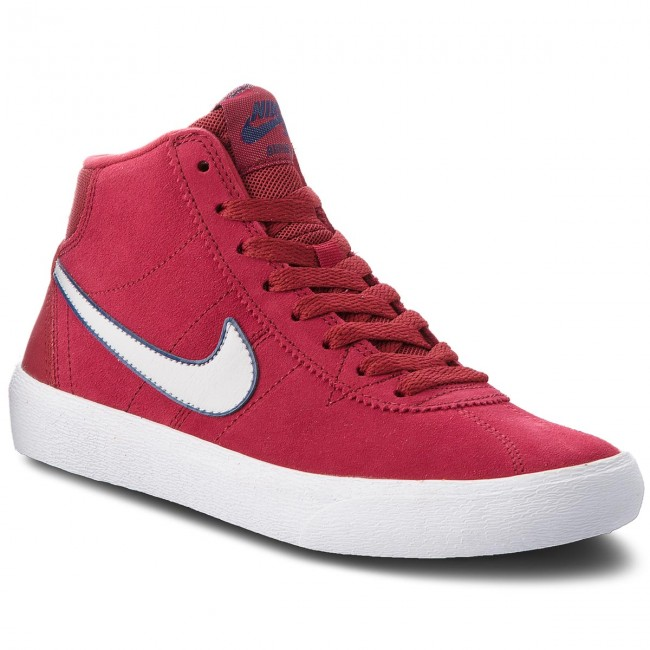 quality design accea 2c881 Buty NIKE - Sb Bruin Hi 923112 600 Red Crush/Vast Grey/White ...