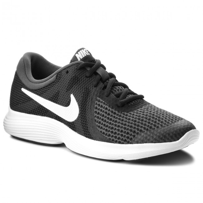 02bb9cf1c7ca Buty NIKE - Revolution 4 (GS) 943309 006 Black White Anthracite ...