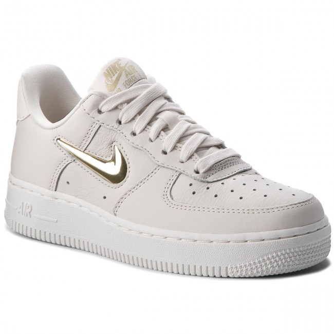 separation shoes 625d2 07c00 Buty NIKE - Air Force 1  07 Prm Lx AO3814 001 Phantom Mtlc Gold