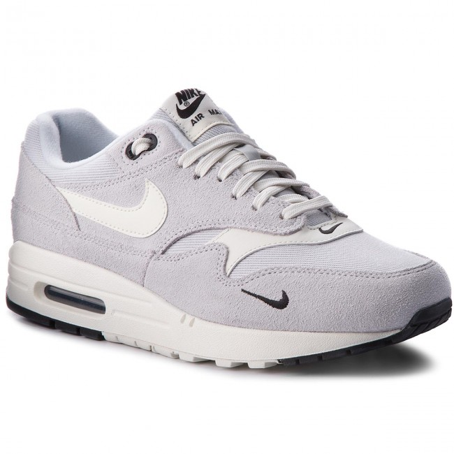 newest abffd 5d108 Buty NIKE - Air Max 1 Premium 875844 006 Pure PlatinumSailBlack