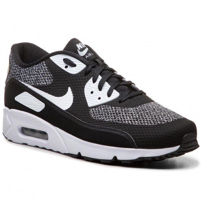 Buty NIKE - Air Max 90 Ultra 2.0 Essential 875695 019 Black White Metallic bdef428e6f3