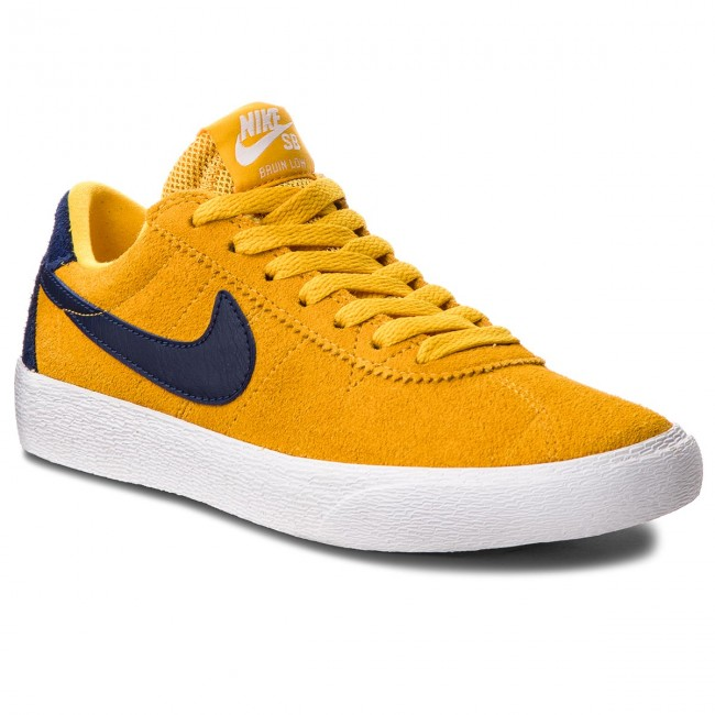 new arrivals 88b44 e8bb0 Buty NIKE - Sb Bruin Low AJ1440 700 Yellow Ochre/Blue Void/White ...