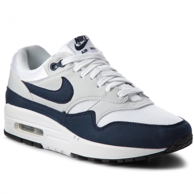 separation shoes d46b3 e6989 Buty NIKE - Air Max 1 319986 104 White Obsidian Pure Platinum