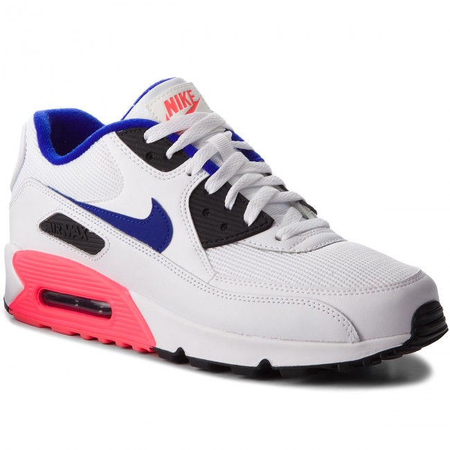 the latest 14af4 9cfeb Buty NIKE - Air Max 90 Essential 537384 136 White Ultramarine Solar Red