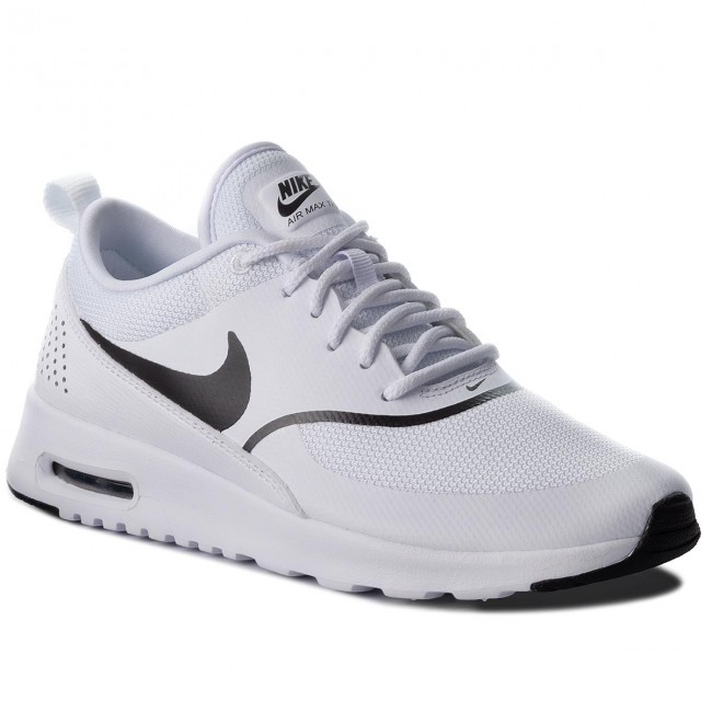 Buty NIKE - Air Max Thea 599409 108  White/Black - Sneakersy - Półbuty - Damskie