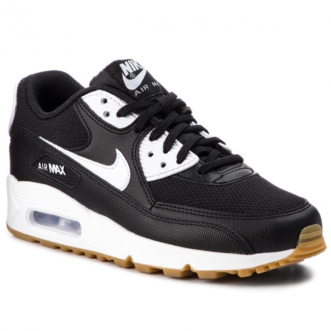 sports shoes 8d3d0 e5e1a Buty NIKE - Air Max 90 325213 055 BlackWhiteGum Light Brown
