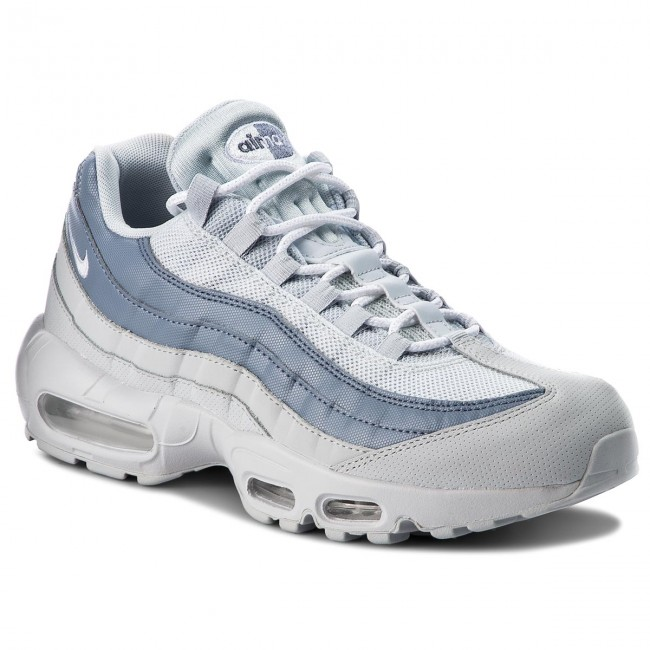 new concept fa4bb 55f47 Buty NIKE - Air Max 95 Essential 749766 036 Pure Platinum/White ...
