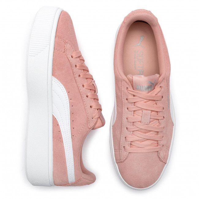 Sneakersy PUMA Vikky Stacked Sd 369144 07 Peach BudPuma White