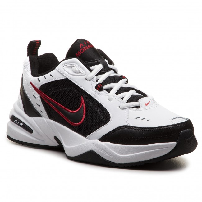Buty NIKE - Air Monarch Iv 415445 101 White Black - Sneakersy ... dc6684b82c50