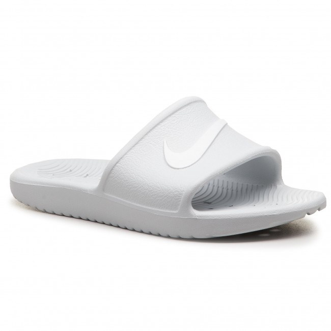 finest selection b03d5 f1b67 Klapki NIKE - Kawa Shower 832655 010 Pure PlatinumWhite