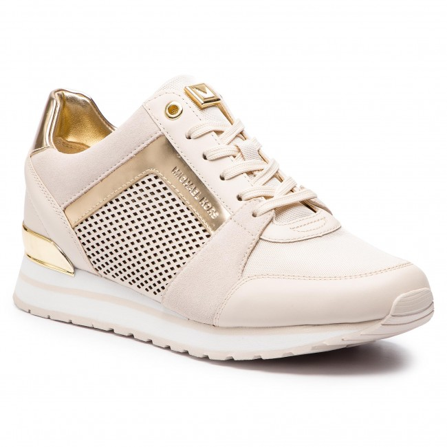 81a127d0efc99 Sneakersy MICHAEL MICHAEL KORS - Billie Trainer 43R9BIFS1L Lt Cream ...