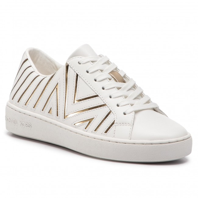 4d928aa5860a5 Sneakersy MICHAEL MICHAEL KORS - Whitney Lace Up 43R9WHFS4L Opt Pl Gold
