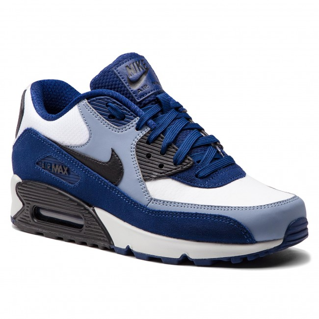 the best attitude a3f52 dbb80 ... promo code for buty nike air max 90 leather 302519 400 blue void black  ashen slate