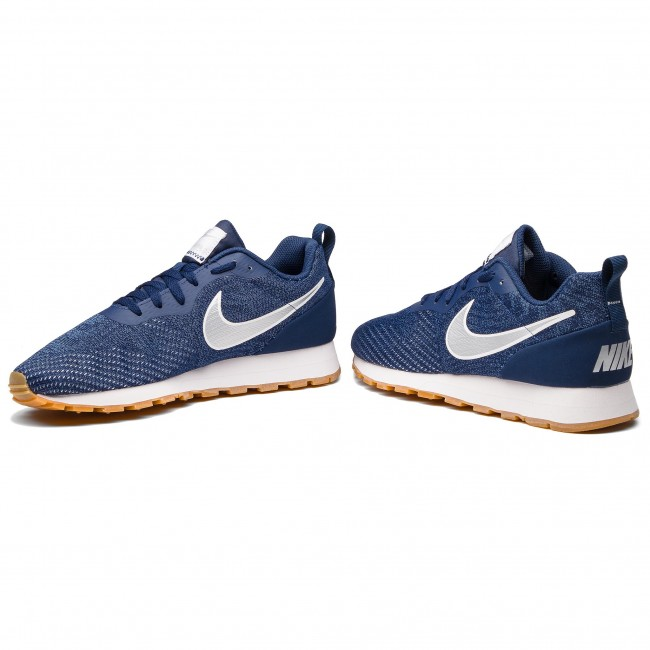 timeless design ac4a3 5f951 Buty NIKE - Md Runner 2 Eng Mesh 916774 402 Midnight Navy Metallic Silver