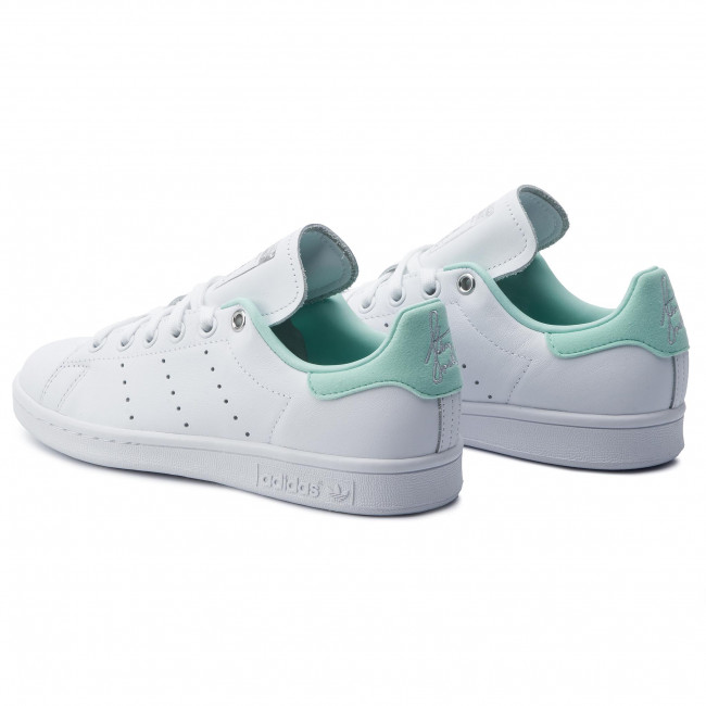 first rate 4d407 6ef82 Buty adidas - Stan Smith W G27908 Ftwwht Silvmt Clemin