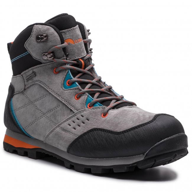 1b2308f4042fd Trekkingi ELBRUS - Condis Mid Wp Dark Grey/Black/Peacock Blue/Orange ...