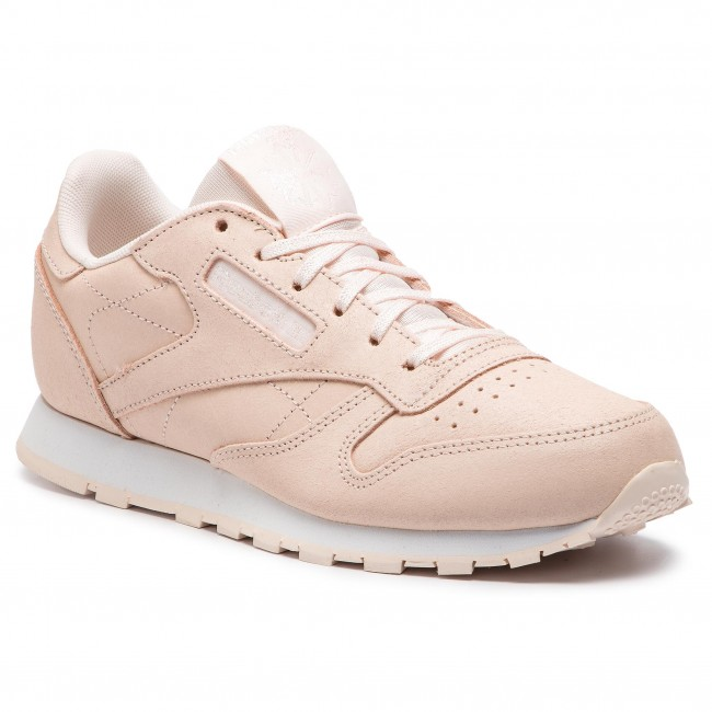 b989006a290 Buty Reebok - Classic Leather CN7500 Pale Pink White - Sneakersy ...