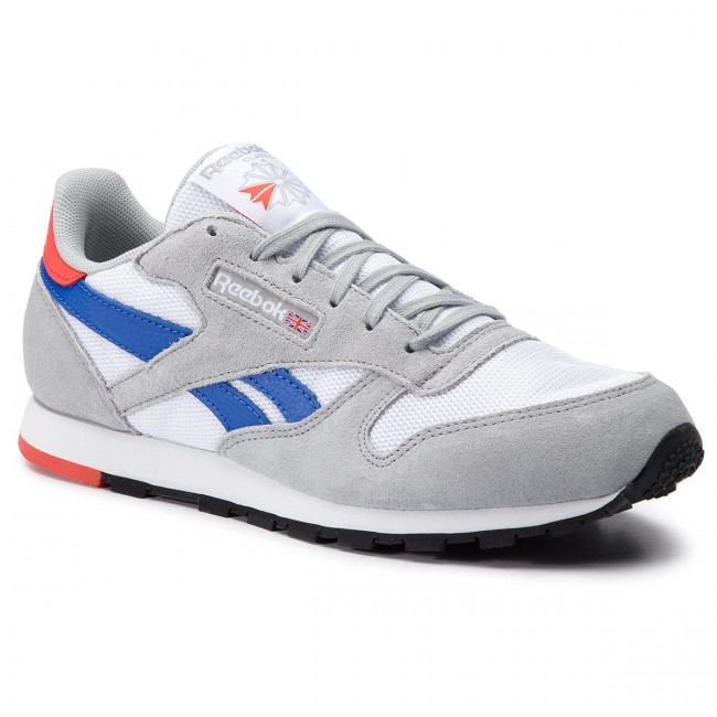 91a558246b858 Buty Reebok - Classic Leather DV4395 White Grey Cobalt Orange ...