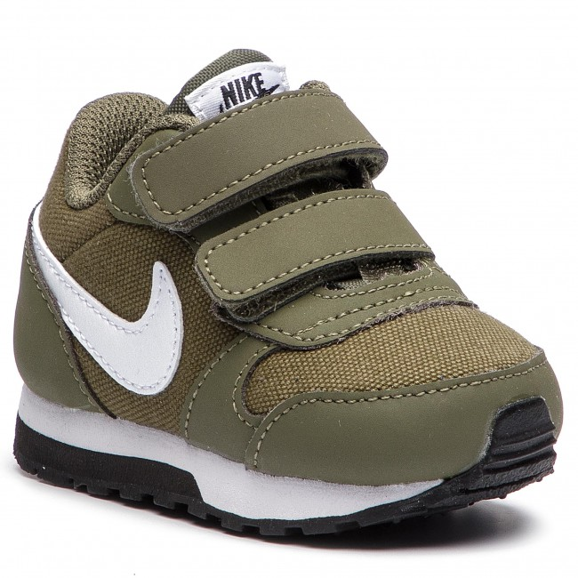 Buty NIKE - Md Runner 2 (TDV) 806255 201 Medium Olive White Black ... b408dab11ff
