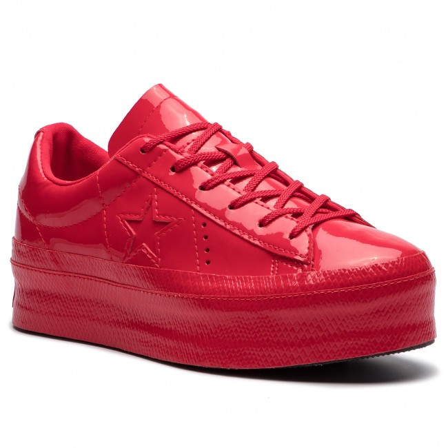 2f7217c8e28c Sneakersy CONVERSE - One Star Platform Ox 562606C Cherry Red Cherry  Red Black