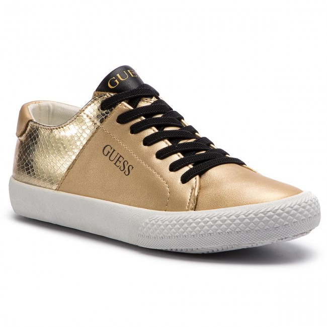 2285e5850746c Sneakersy GUESS - FJLAR3 ELE12 OR FLAX GOLD - Sneakersy - Półbuty ...