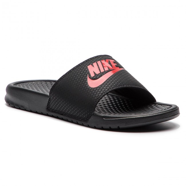 check out d5543 dc2a4 Klapki NIKE - Benassi Jdi 343880 060 BlackChallenge Red