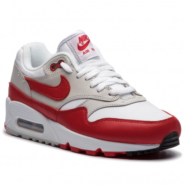 official photos 244d4 4b4aa Buty NIKE - Air Max 90 1 AQ1273 100 White University Red
